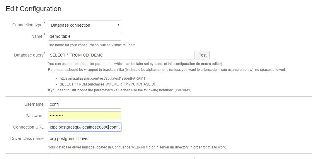 Using ConfiDoc to connect to Database - ConfiDoc - Vertuna WIKI